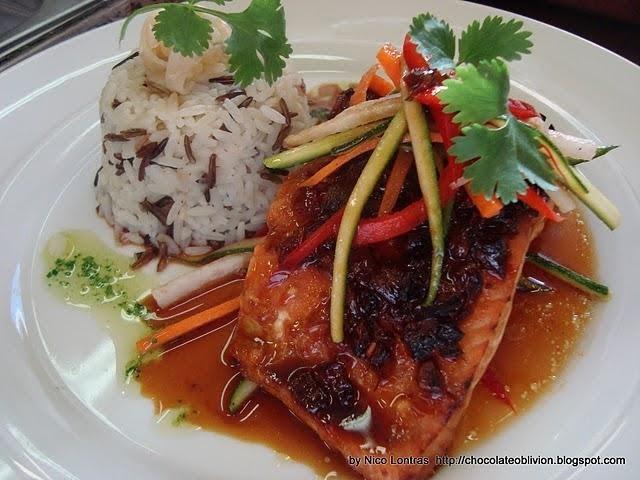 Teriyaki Salmon Recipe Food Network