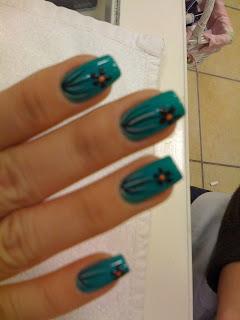 peridot nail salon tweety's latest nail art