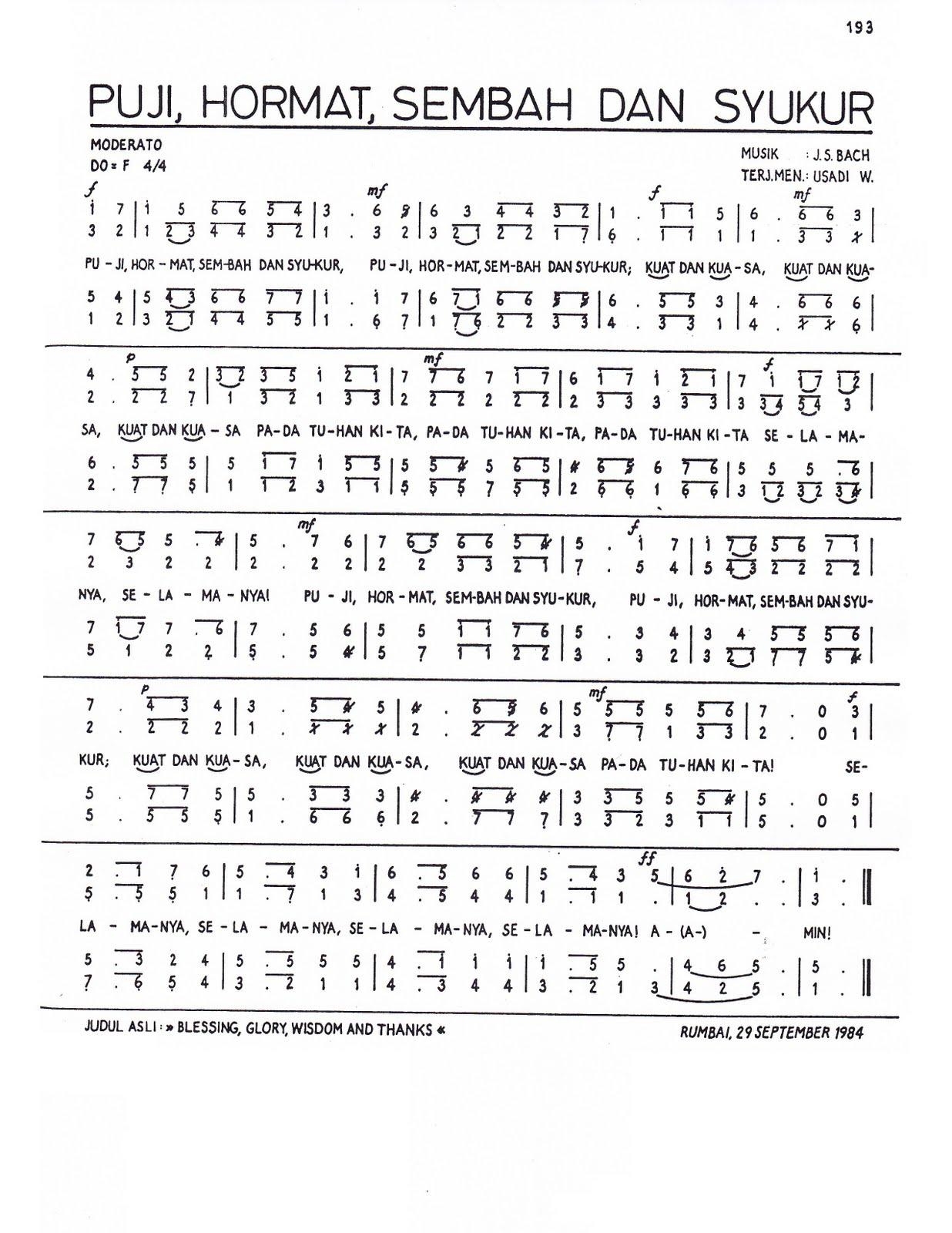 KUMPULAN PARTITUR KOOR PDF