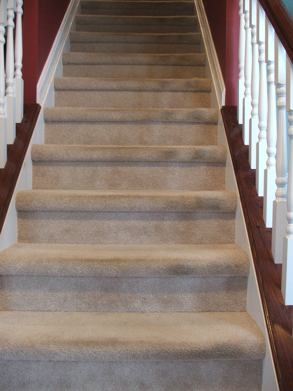 Remodelaholic Under 100 Carpeted Stair To Wooden | Buy Carpet For Stairs