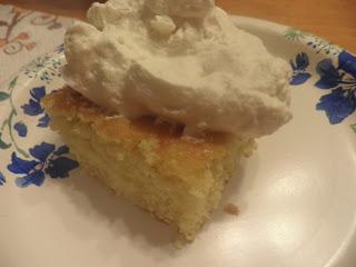 White Chocolate Clementine Cake