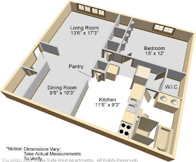 Kings gate west apartments for 1 king west floor plans