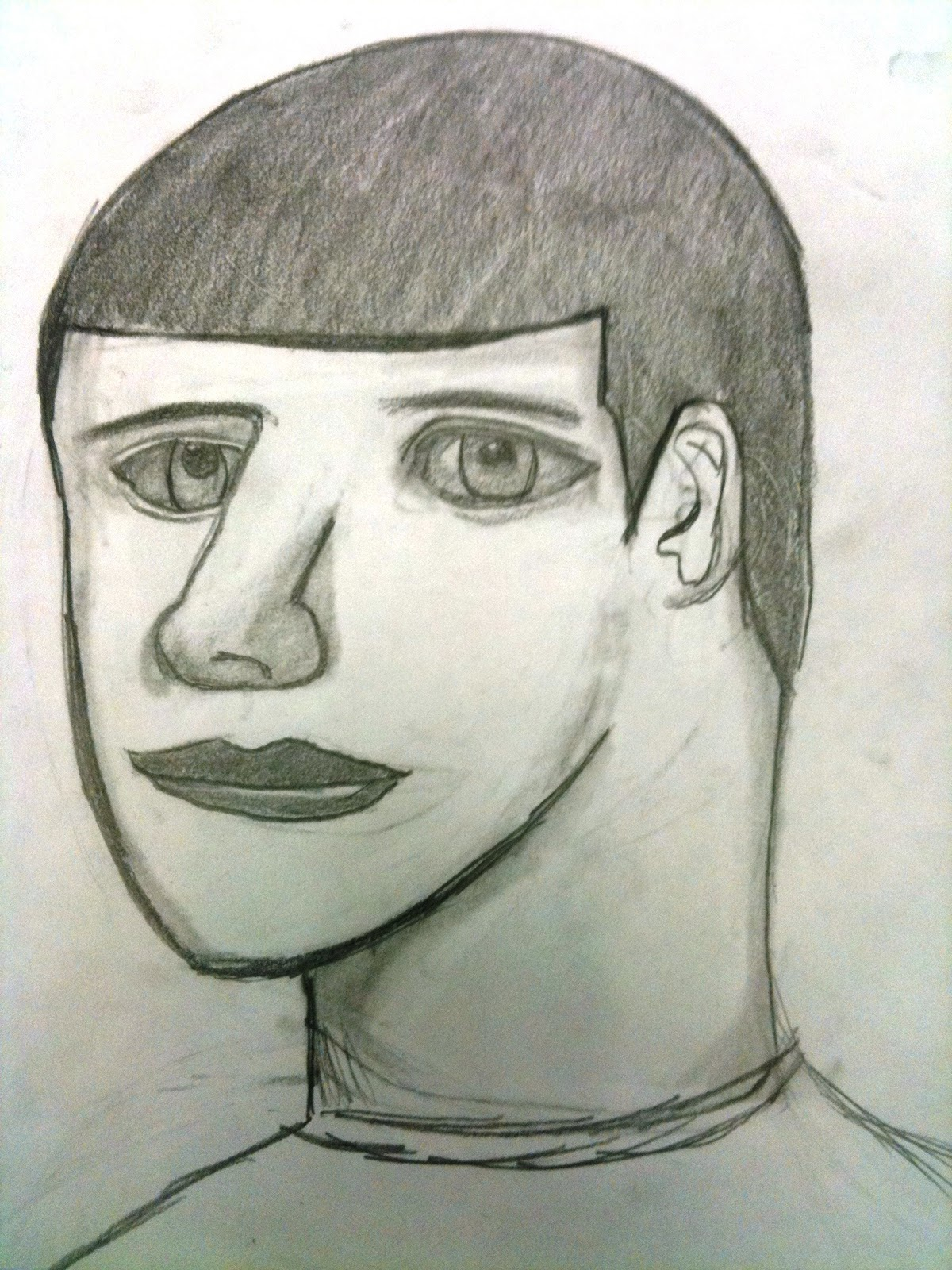 The Helpful Art Teacher: MORE ON DRAWING FACES