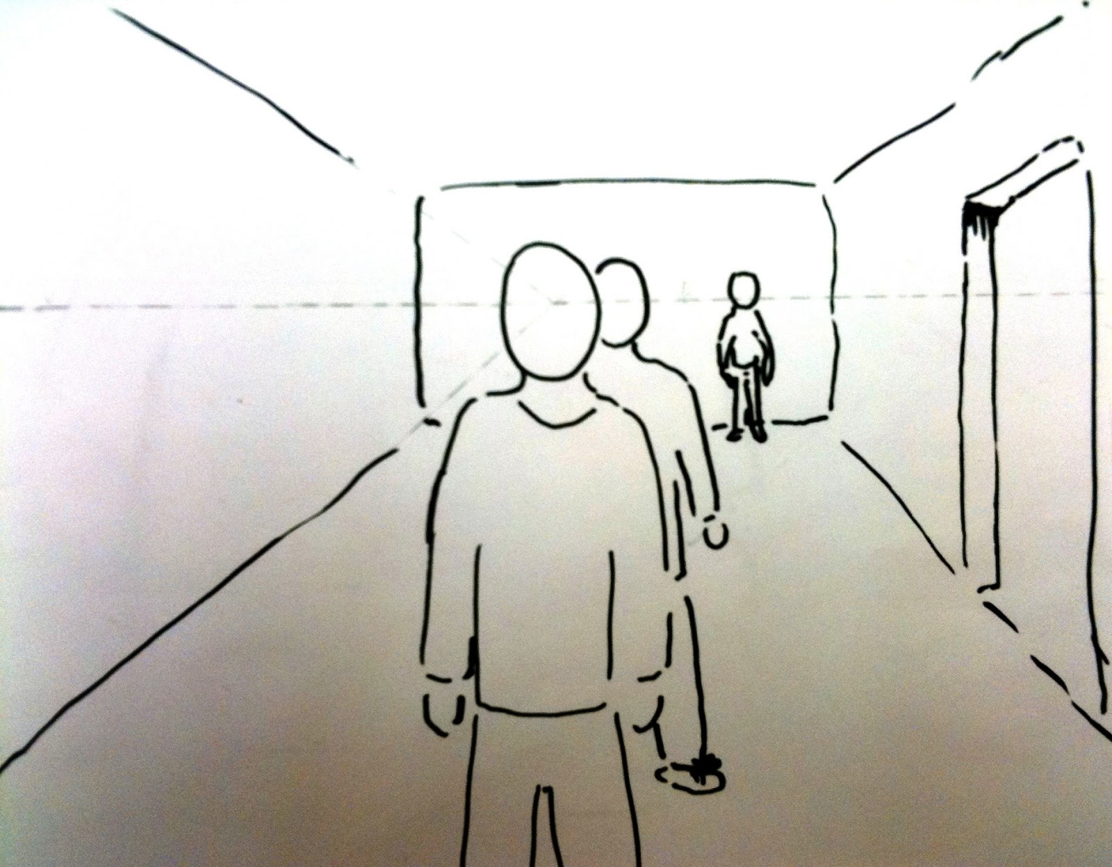 How To Draw Distant Figures
