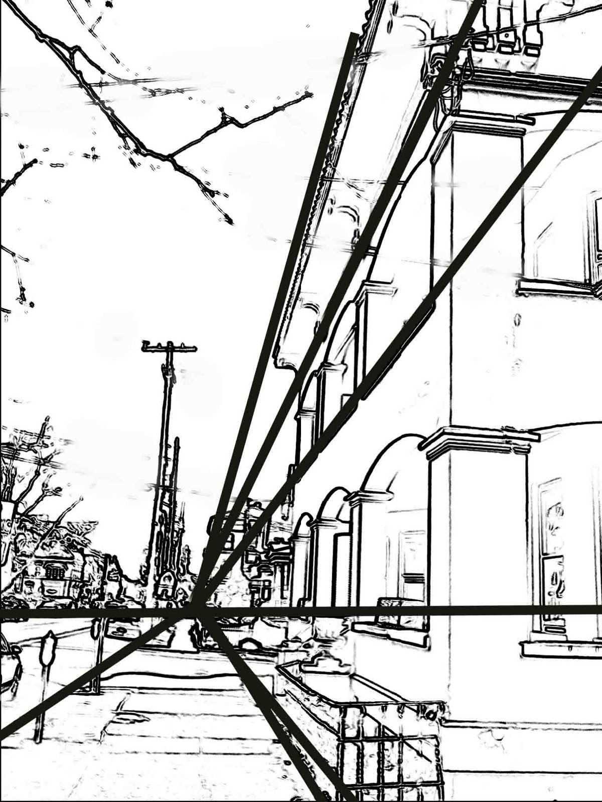 The Helpful Art Teacher: Perspective 101 continued...one