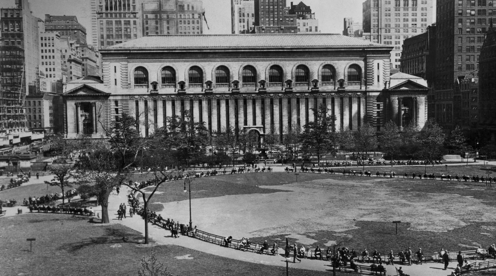 Bryant Park Blog From The Archives The 1934 Moses