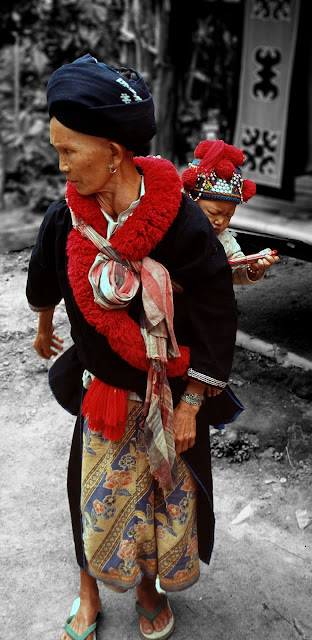 Mujer Mien en Tailandia