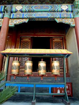 Cilindros para la oración en los Monasterios de Chengde