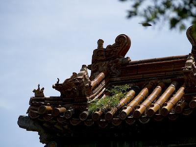 Tejadillos de templos en Chengde