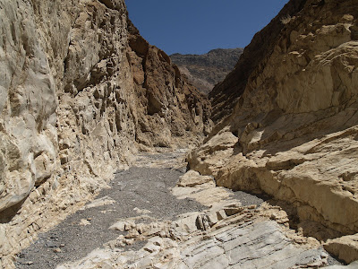 Marble Canyon en Death Valley