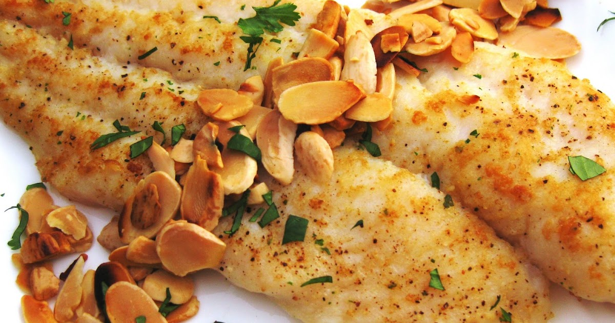 Jules Food Basa Swai Pan Seared With Toasted Almonds
