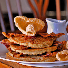 Chicharron Pancakes