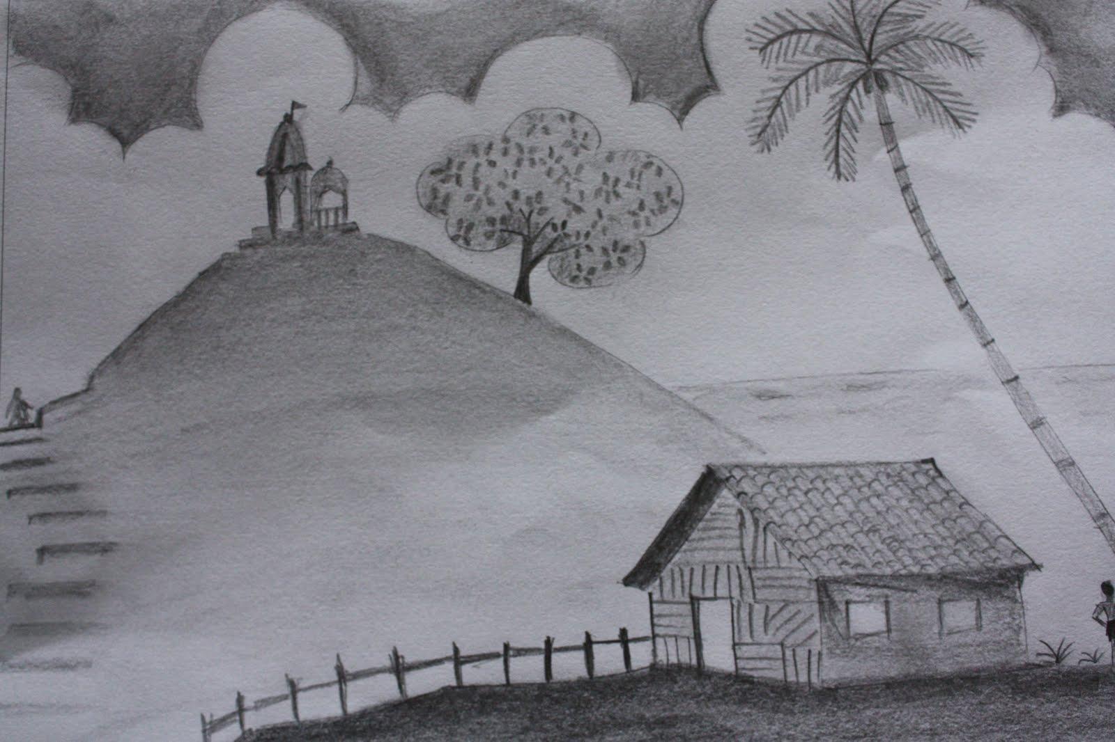 My 1st pencil sketch