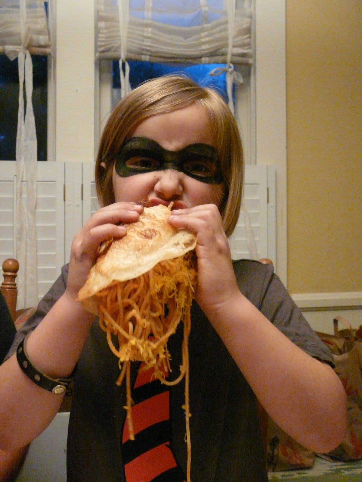 Don T Be A Nub Try Spaghetti Tacos