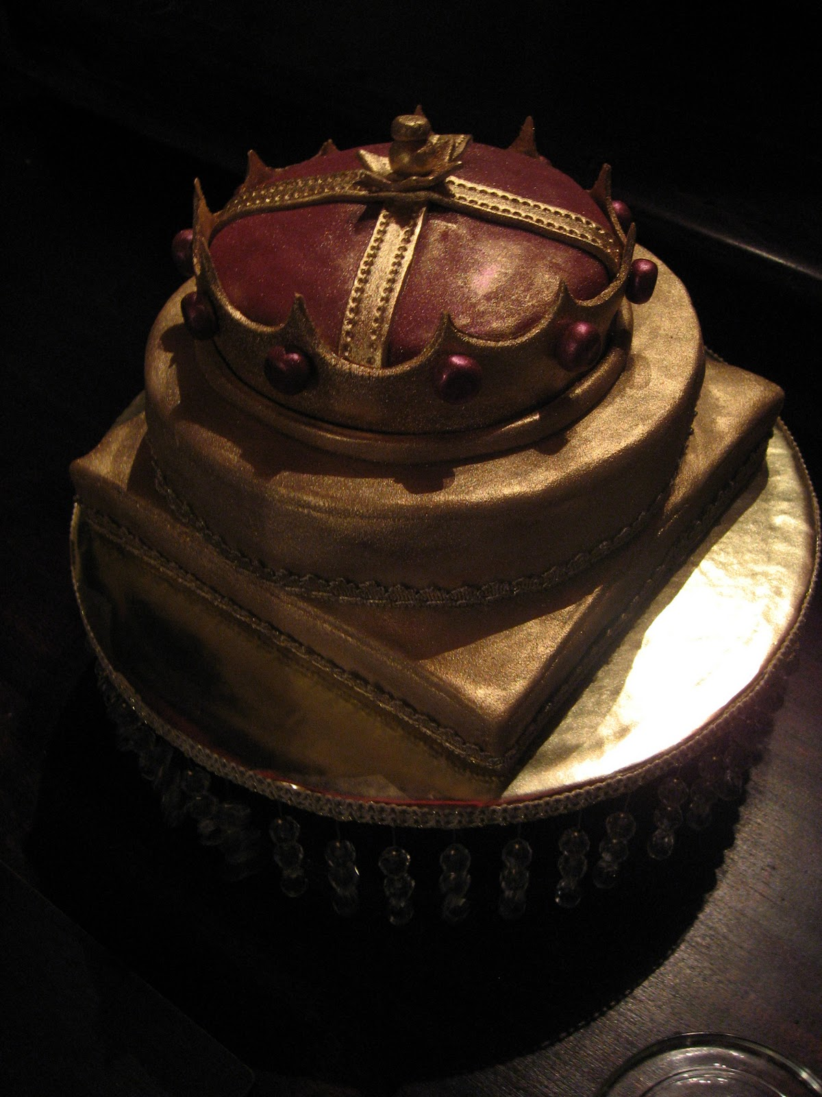 Sugarbuttons Medieval Birthday Cake