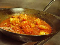 A pan simmering on the stove
