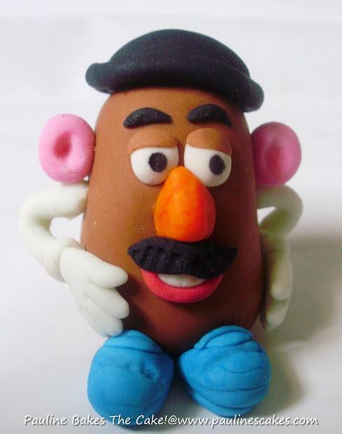 Pauline Bakes Cake Ethan' & Potato Head And