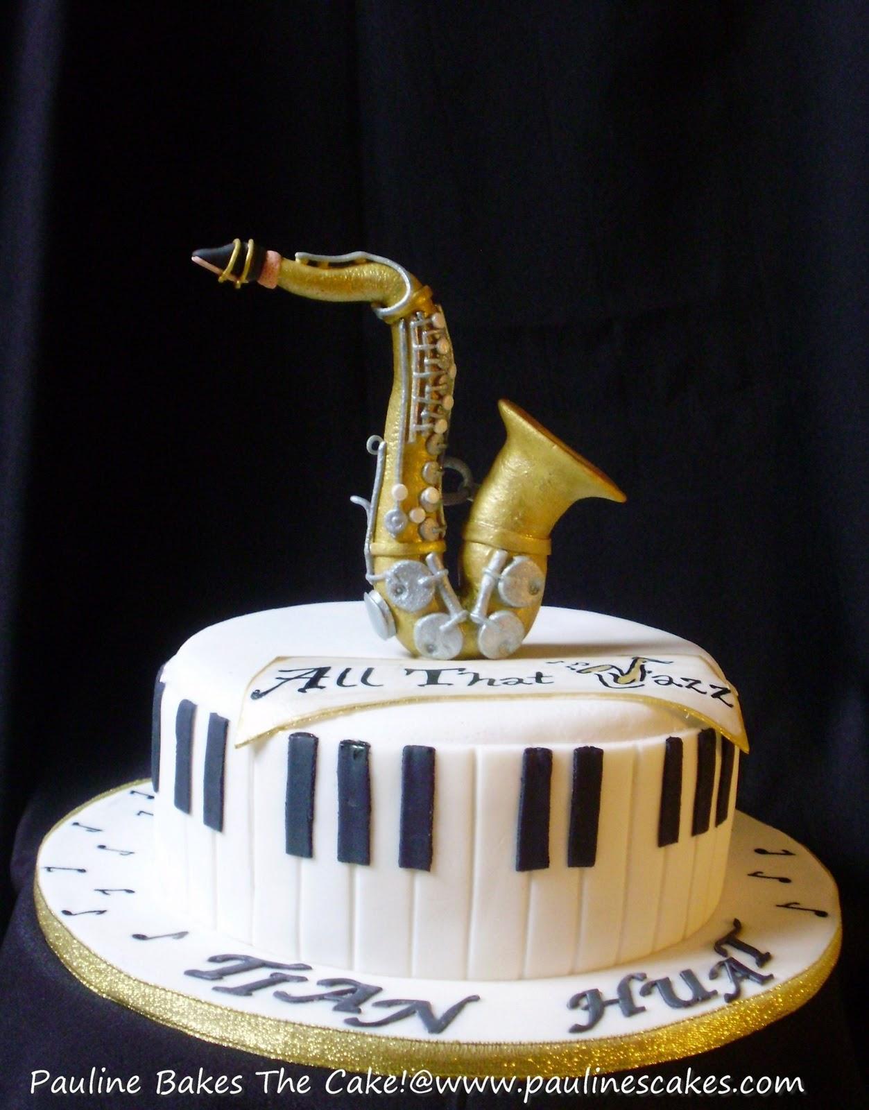 Birthday Cake Saxophone