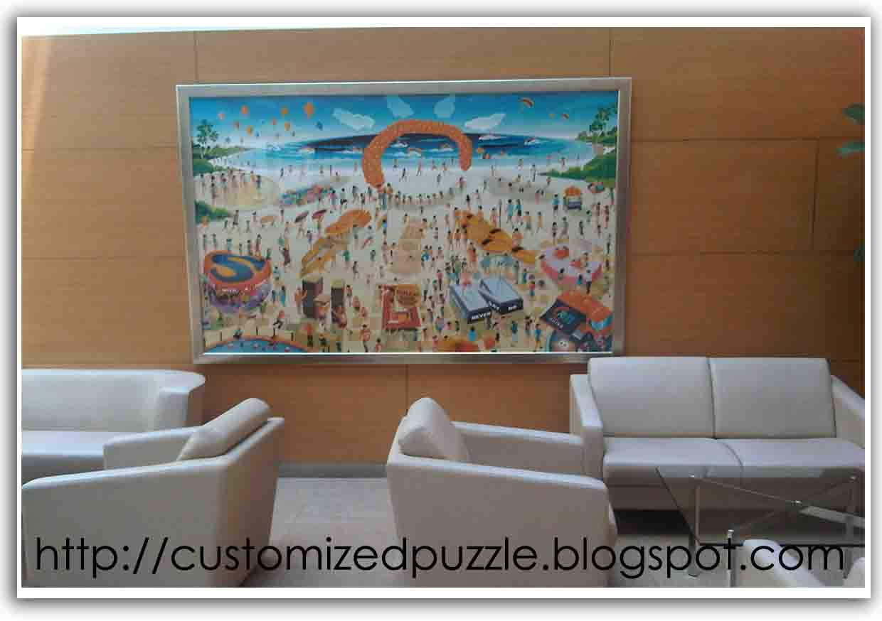 Lobby Sofa Crossword Can U Recover A Leather Customized Jigsaw Puzzle How Huge Joint