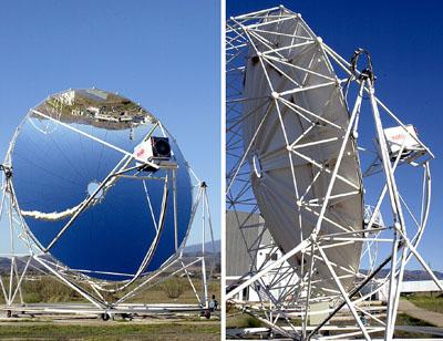Concentrador solar parabolico