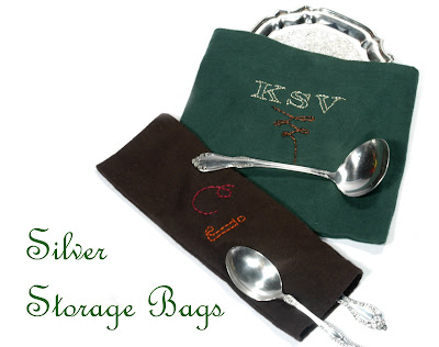 Cathie Filian Make Your Own Silver Storage Bags