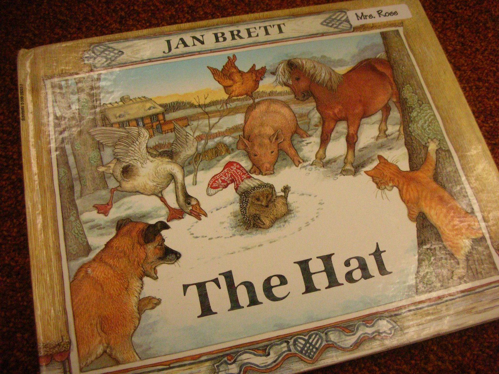Search Results For The Hat Jan Brett Printables Calendar