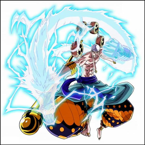 """One Piece  wallpaper God of Lightning """"Enel"""" 