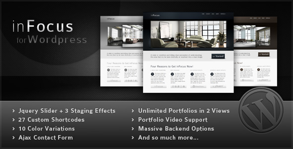 inFocus Wordpress Theme Free Download.