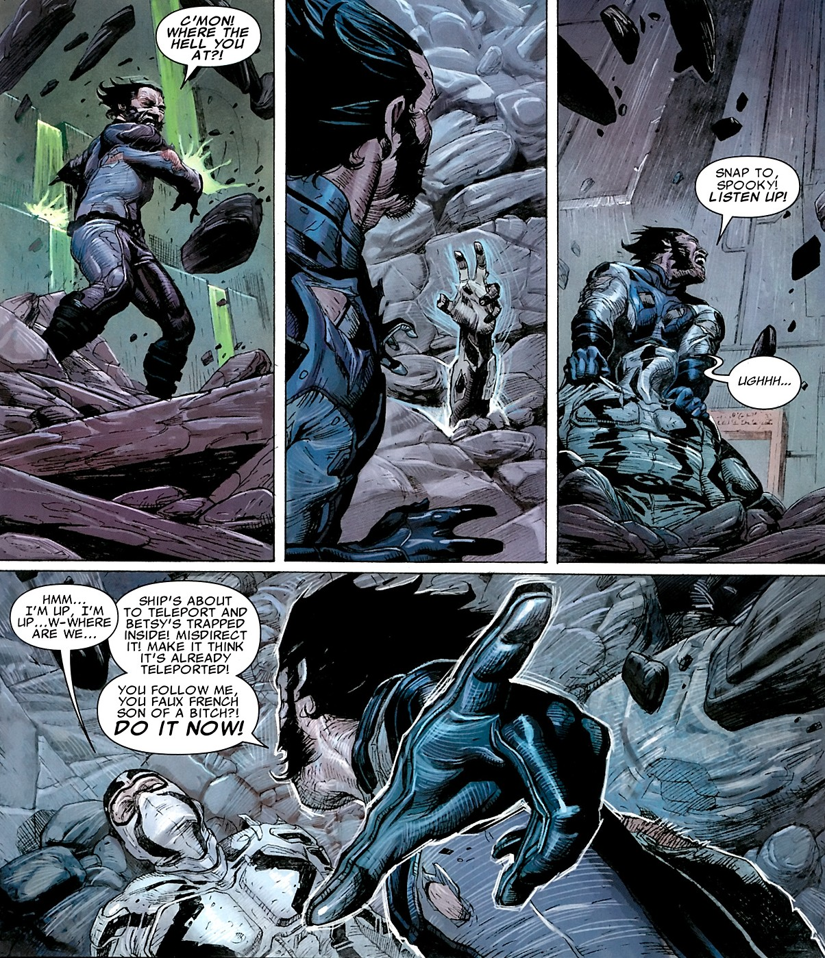 X-men Supreme: Uncanny X-Force #4 - A+ Awesome