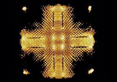 Another Cymatic image by Alexander Lauterwasser