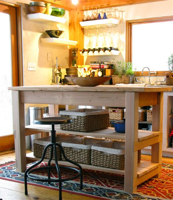 Build A Kitchen Table: Domestic Jenny: Diy Kitchen Island Plans