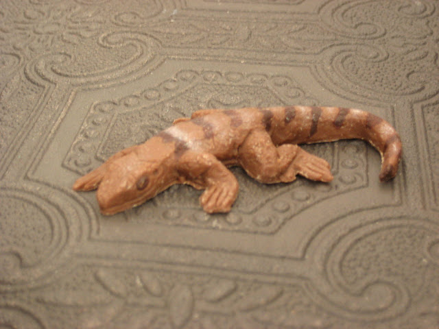 chocolate lizard