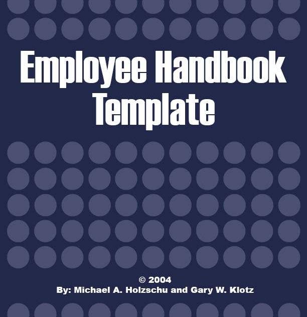 Employment Handbook Template the for word is one of the free word – Staff Manual Template