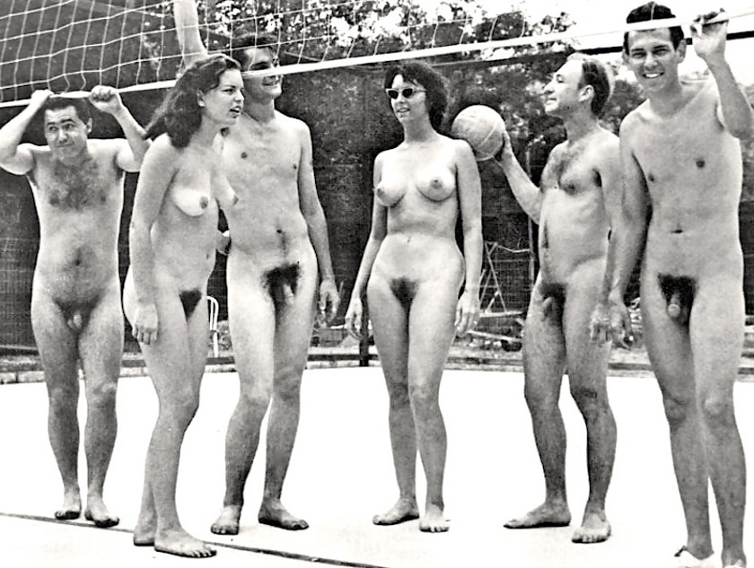 Vintage Nude Swim Team-4609