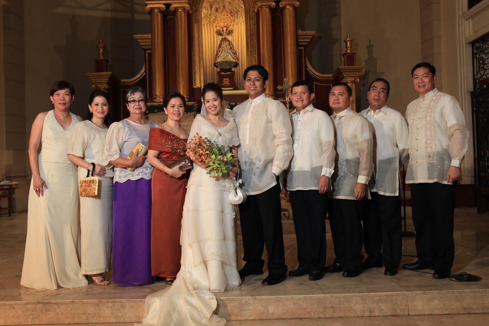 Principal Wedding Sponsor Gowns: Slingshot Journals: Mabuhay Ang Bagong Kasal