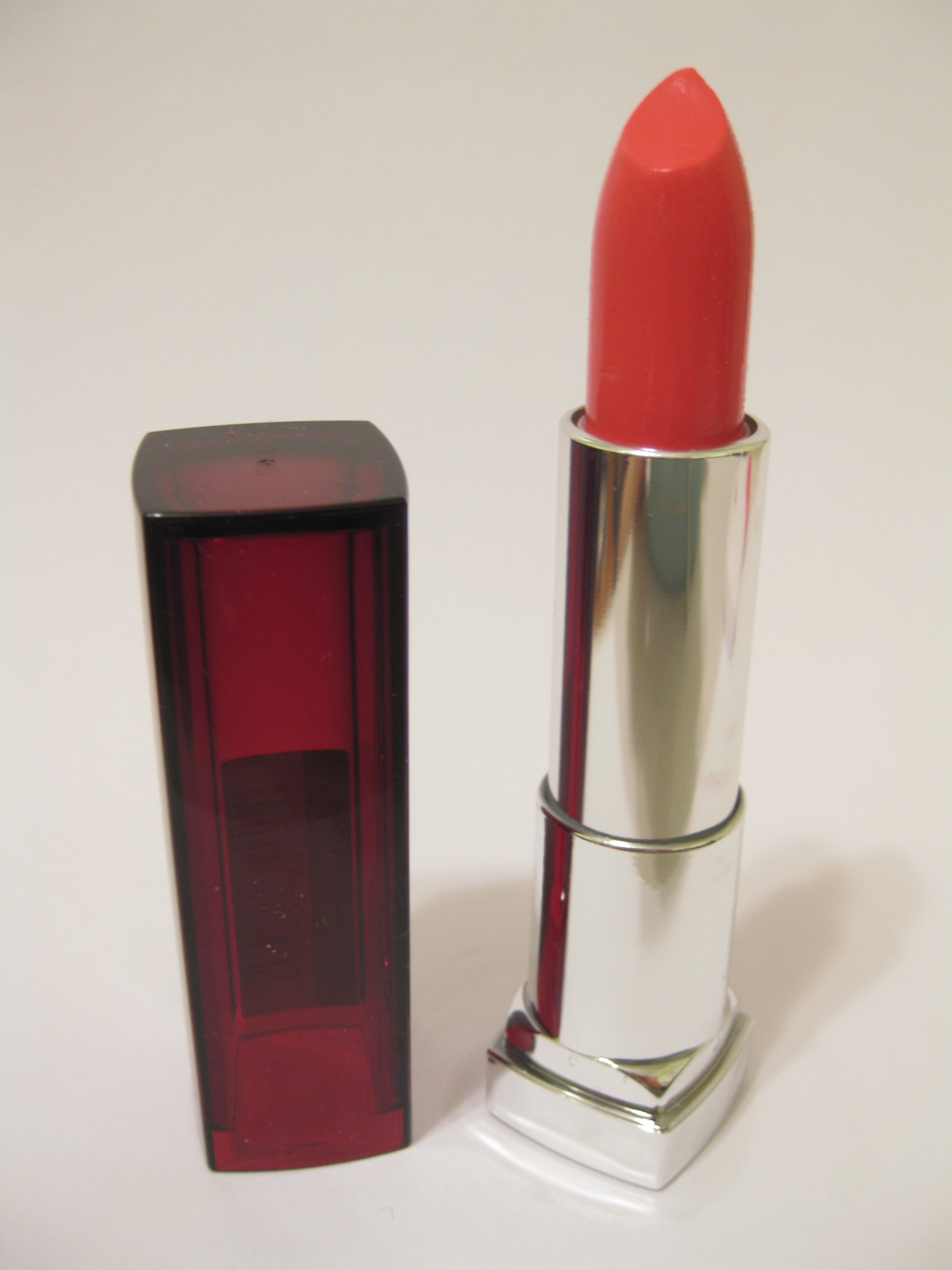 Kalifornia Love Maybelline Color Sensational Lipstick In Coral Lipstik Crush Review Swatches