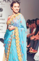 Rituparna sengupta at lackme fashion week