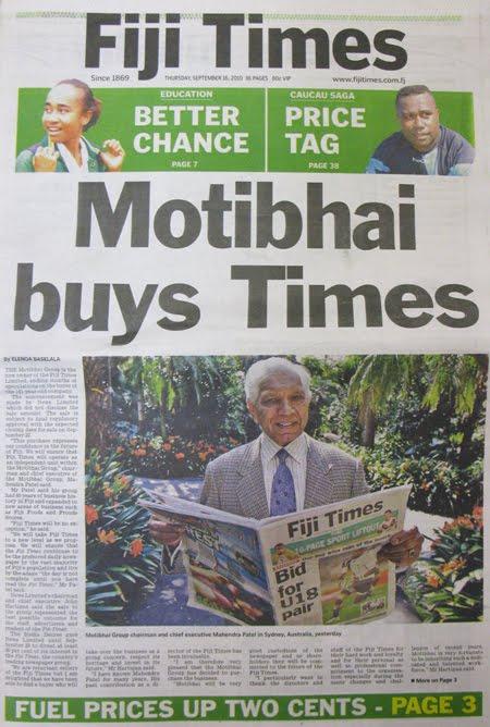 Fiji Sun Newspaper Online Today