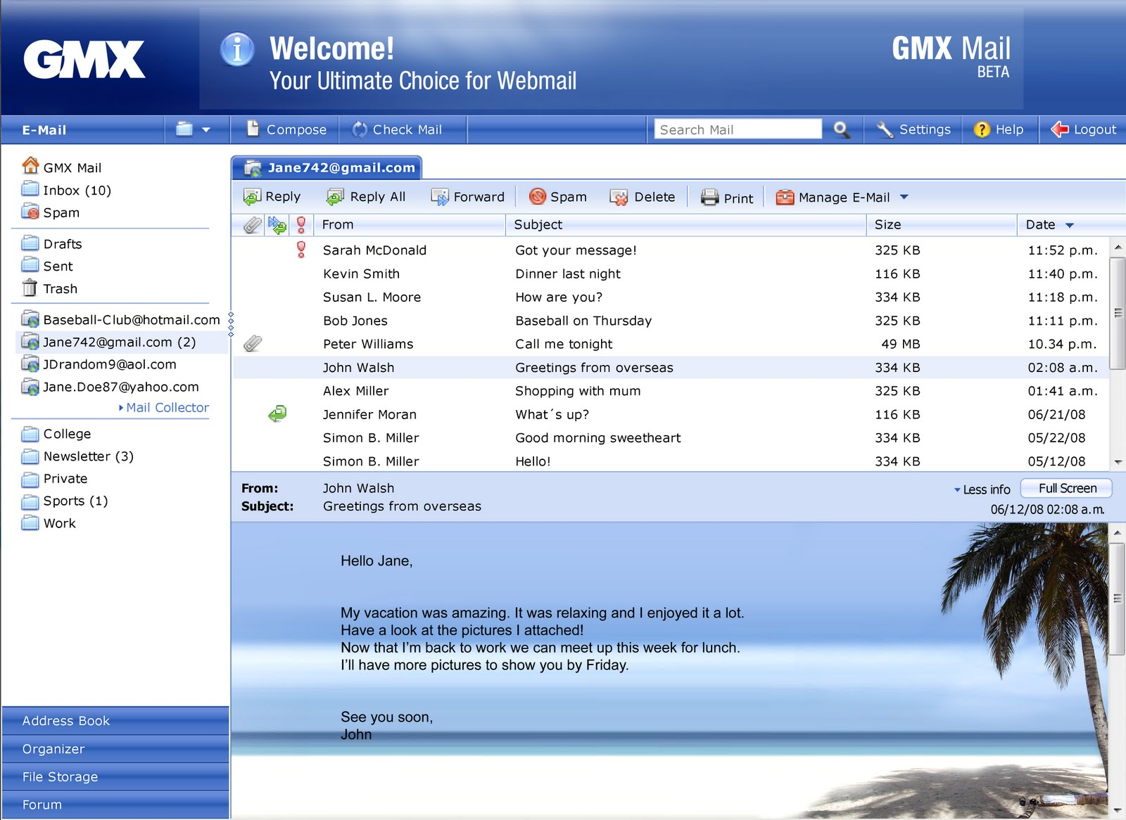 Gmx Gmail