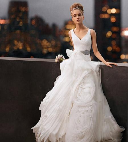 9ae5da2f70b I am Fashion  David s Bridal Premieres White by Vera Wang