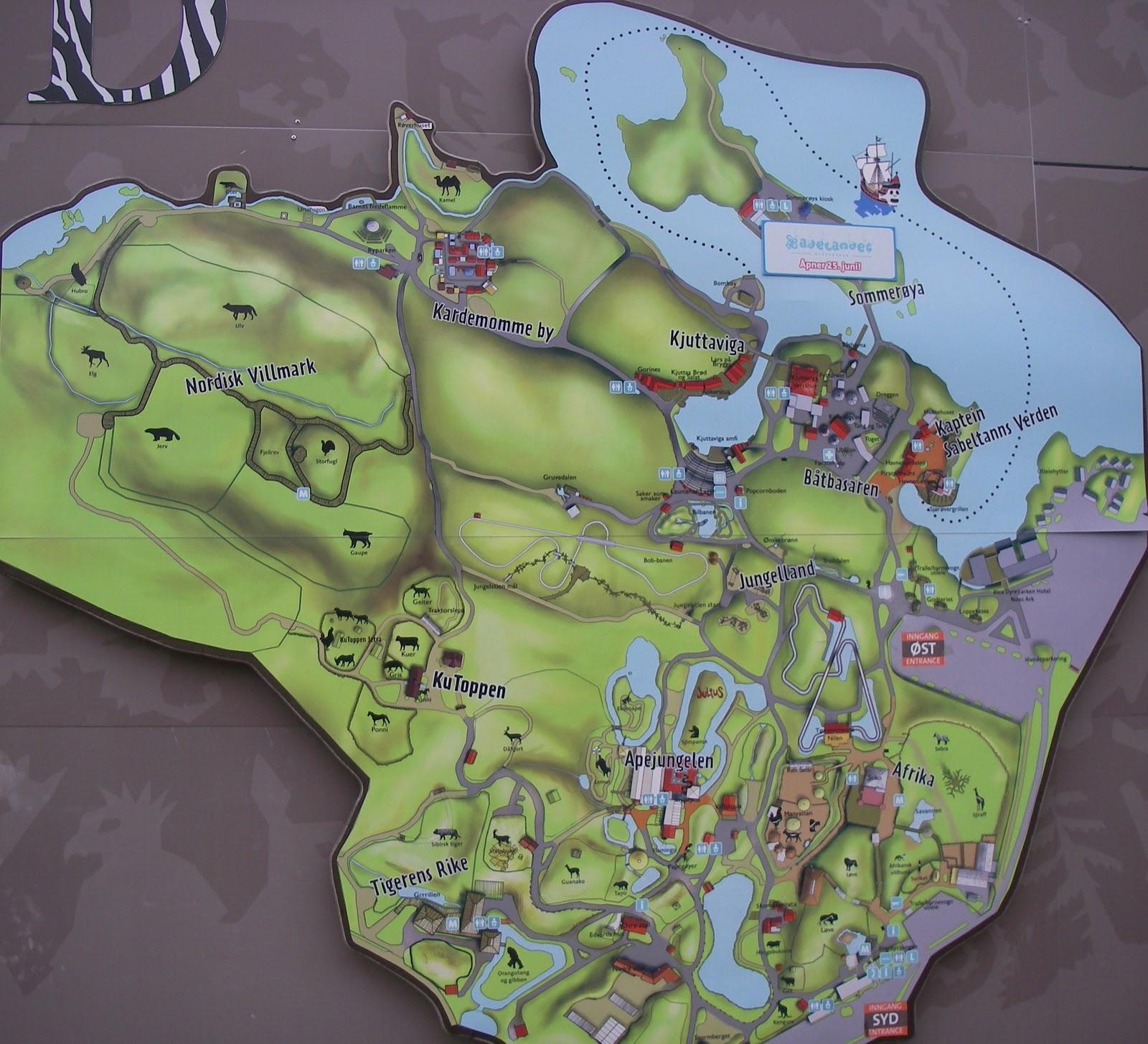 kart over kristiansand dyrepark Lille meg: Dyreparken kart over kristiansand dyrepark