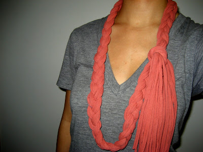 How to Make a Scarf from Recycled T-shirts