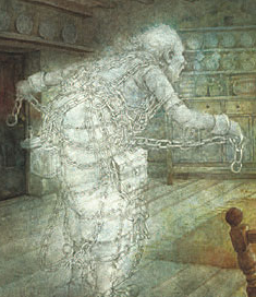 Victorian Literature: A Christmas Carol; The 4 Ghosts