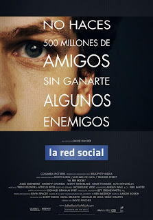 The Social Network Red social  DVDR  Audio latino