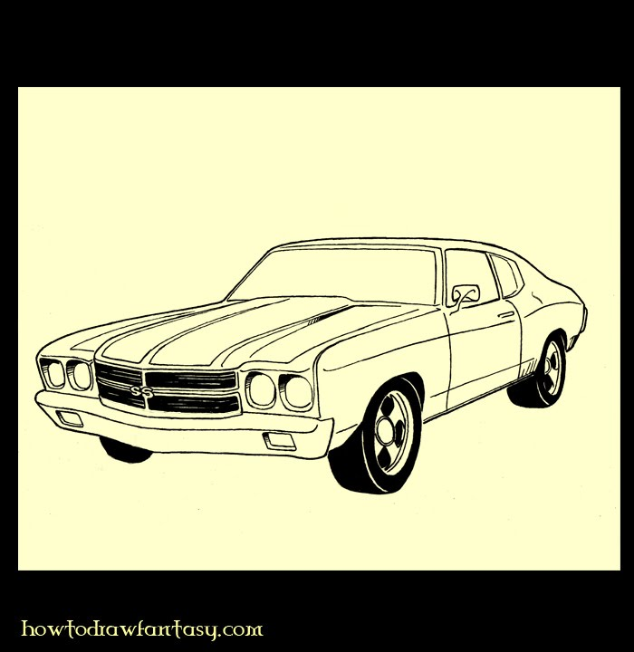 How To Draw Muscle Cars 66