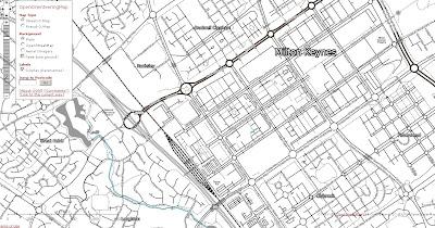 OpenOrienteeringMap Street-O Map Mode