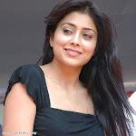 Sherya Saran In Hot Black Dress