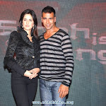 Katrina Kaif And Akshay Kumar In Singh Is The King Promotion