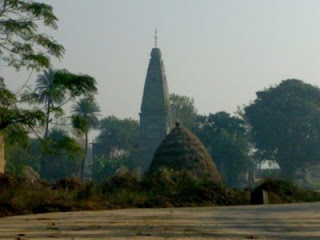Temple Under Construction in Jalkheri