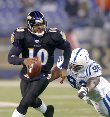 Ravens QB Troy Smith